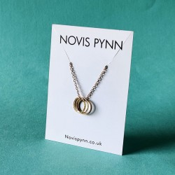 Three Rings Pendant Necklace